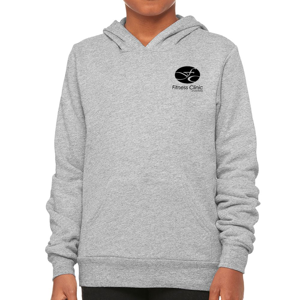 Bella+Canvas Youth Sponge Fleece Pullover Hooded Sweatshirt - Personalization Available