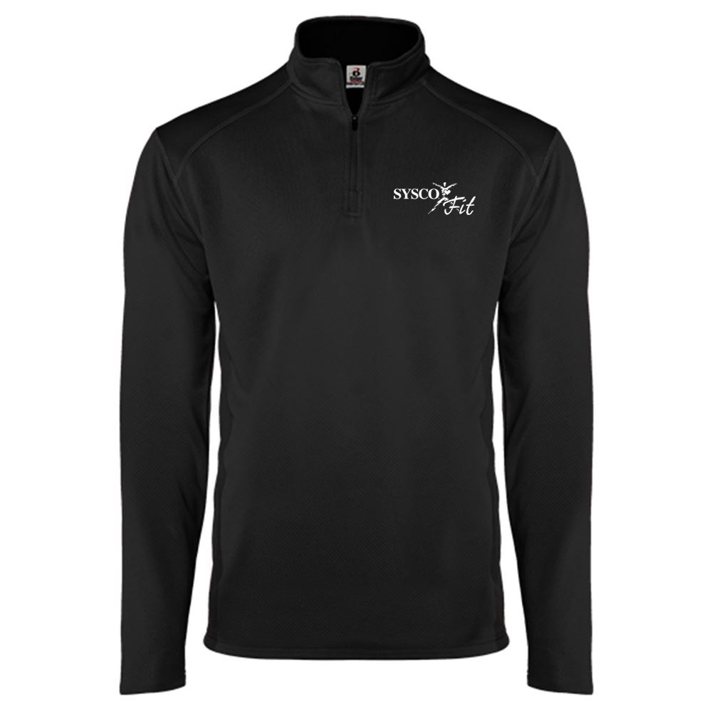 Badger Money Mesh Quarter-Zip Pullover