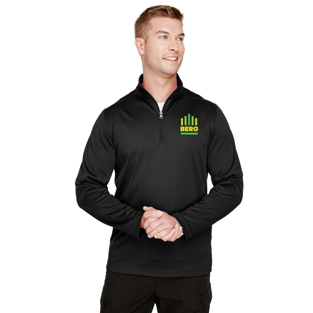 Harriton Men's Advantage Snag Protection Plus IL Quarter-Zip - Personalization Available