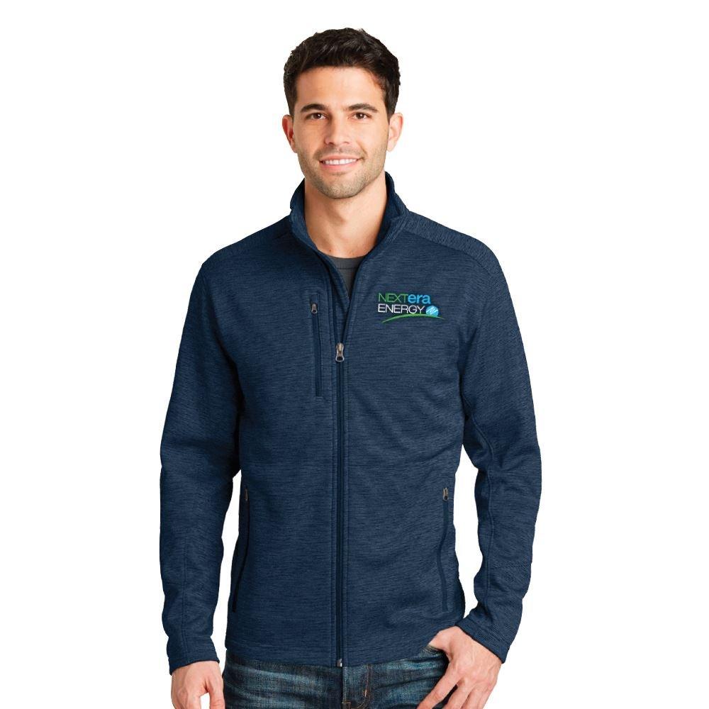 Port Authority® Men's Digi Stripe Fleece Jacket - Embroidery Personalization Available