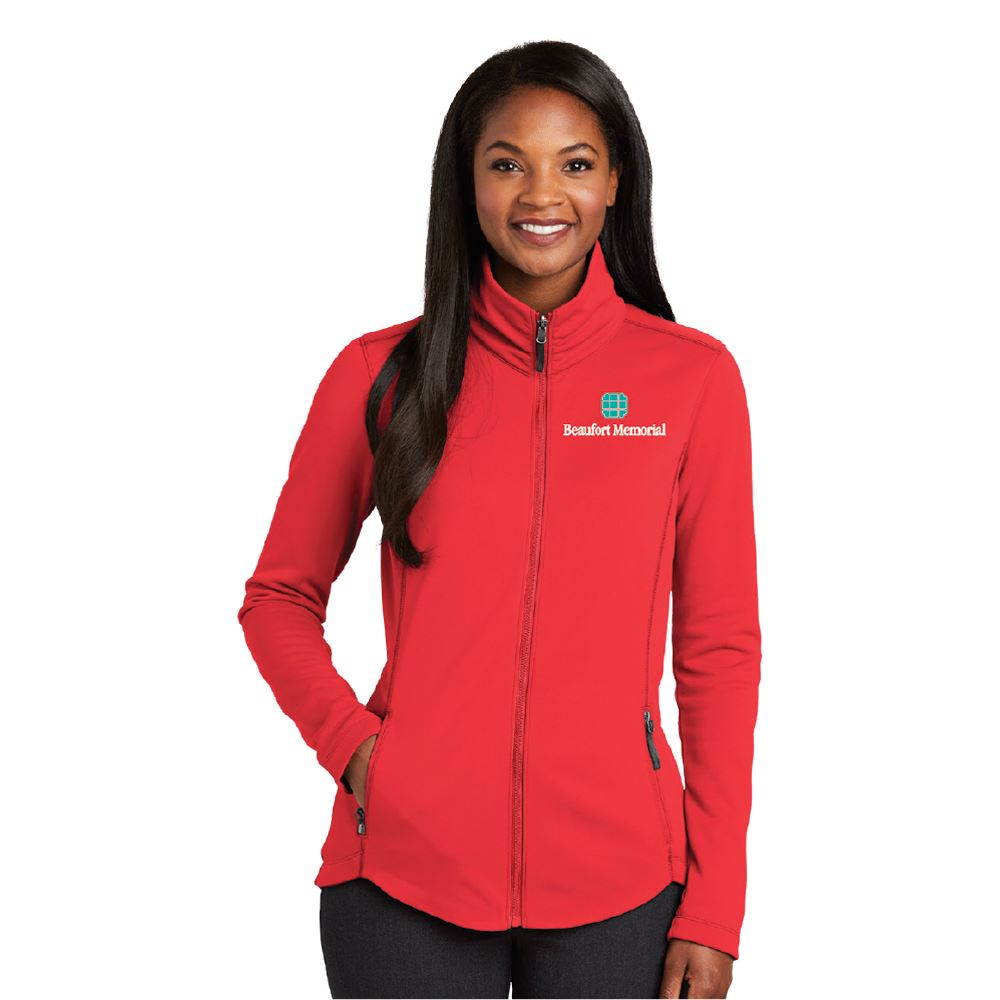 Port Authority® Women's Collective Smooth Fleece Jacket - Embroidery Personalization Available