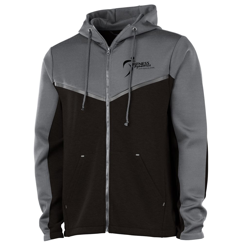 Charles River Apparel® Men's Seaport Full Zip Hoodie - Embroidered Personalization Available