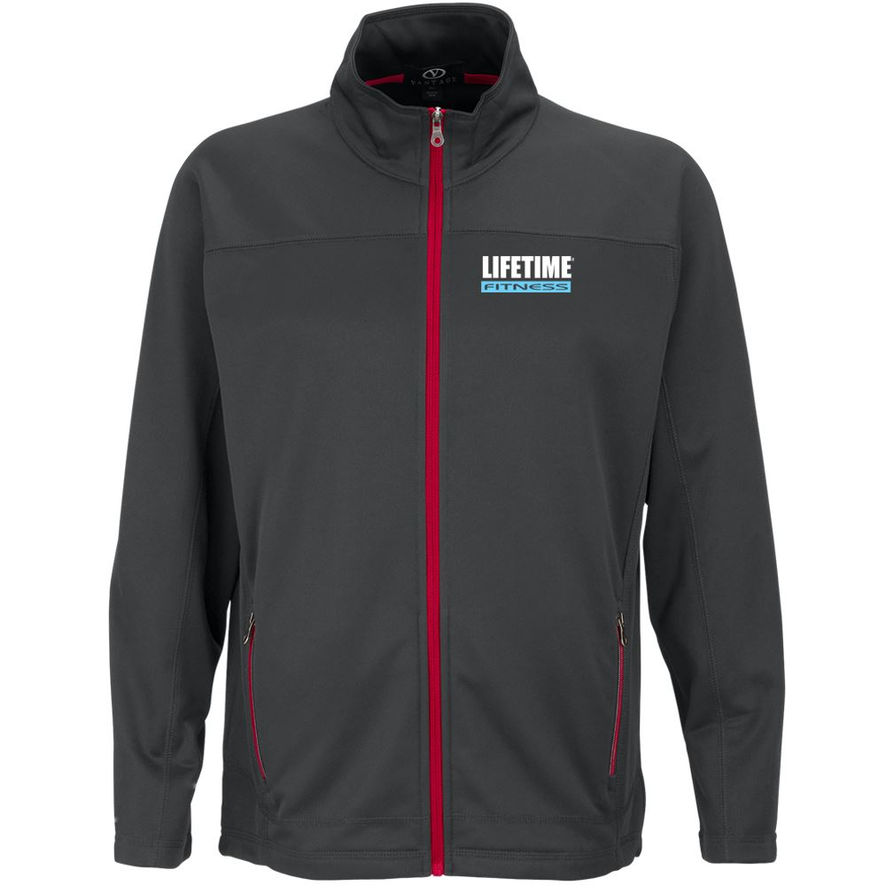 Brushed Back Men's Micro-Fleece Full-Zip Jacket - Personalization Available