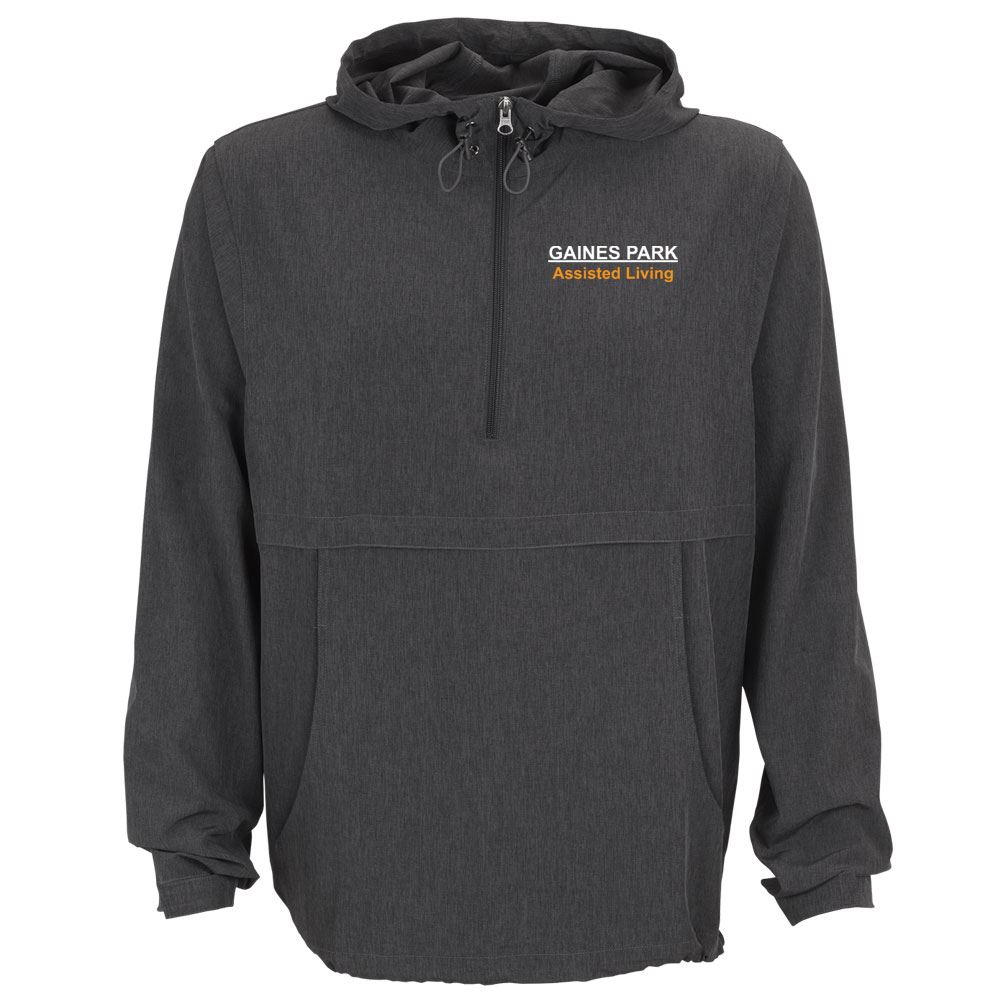 Men's Pullover Stretch Anorak - Personalization Available