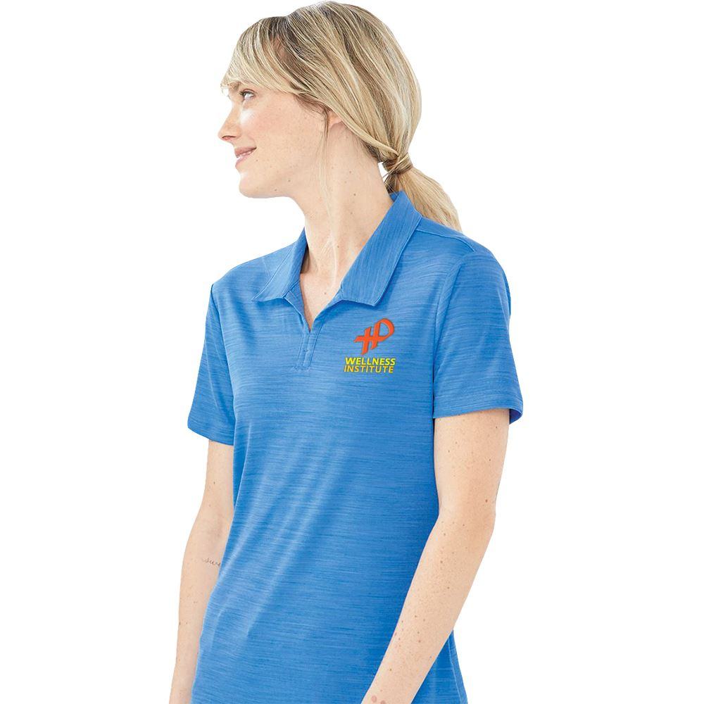 Adidas® Women's Essential Melange Polo Shirt - Personalization Available
