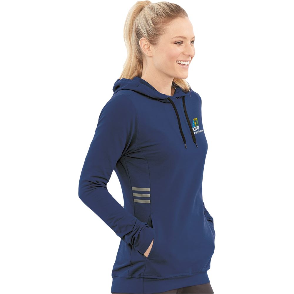 Adidas®�Women's�Lightweight Hooded Sweatshirt - Personalization Available
