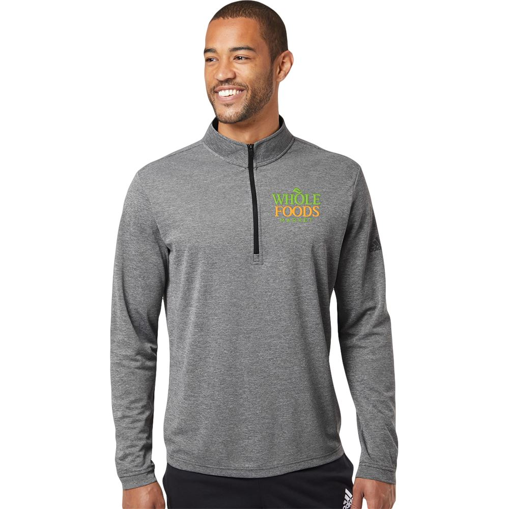 Adidas® Men's Lightweight Quarter-Zip Pullover - Embroidery Personalization Available