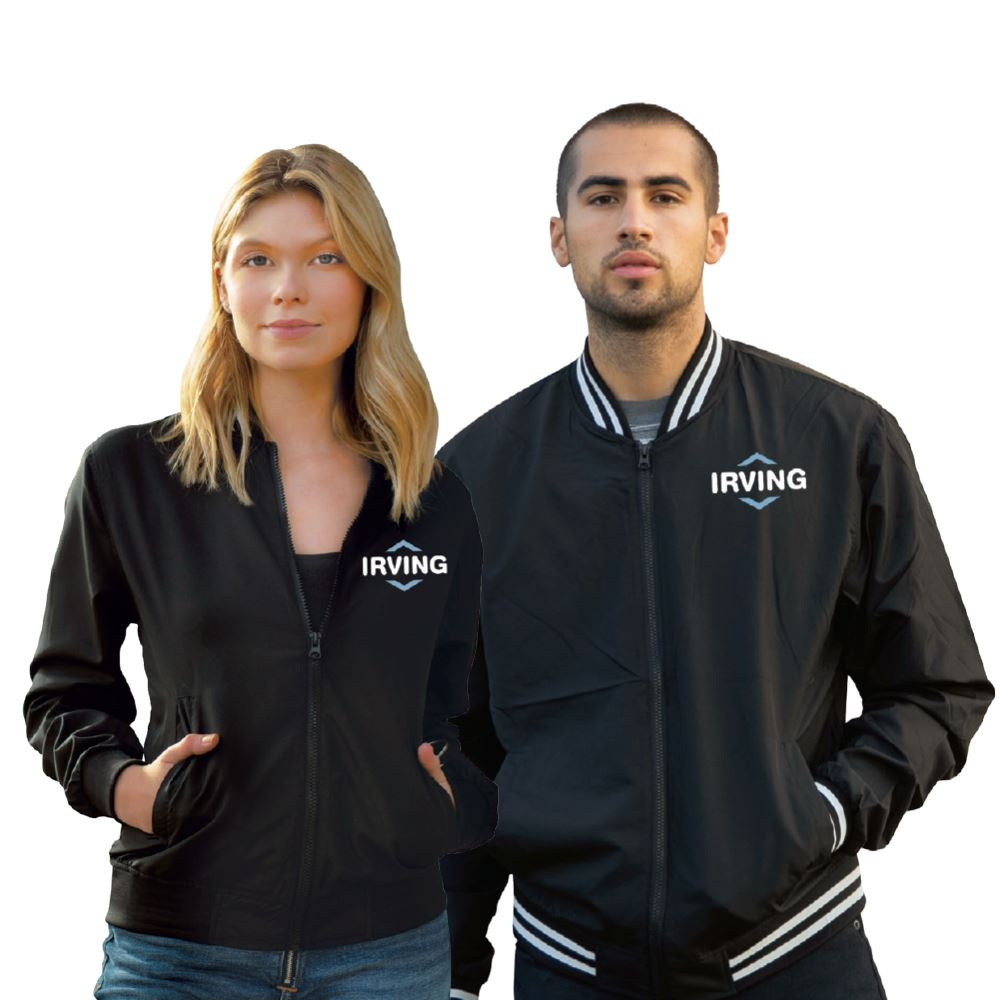 Independent Trading Co.® Unisex Lightweight Bomber Jacket - Embroidered Personalization Available