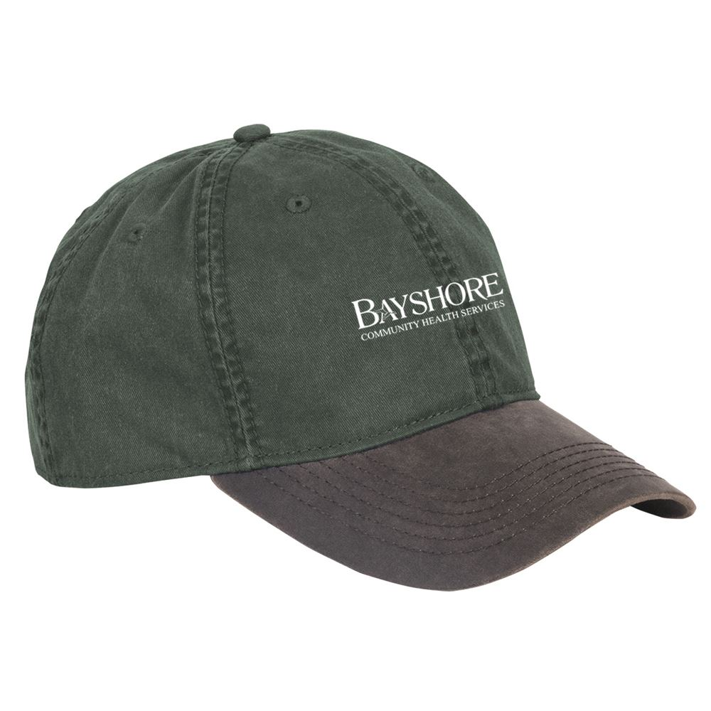 Dri Duck Washed Cotton Chino Vintage Cap - Personalization Available