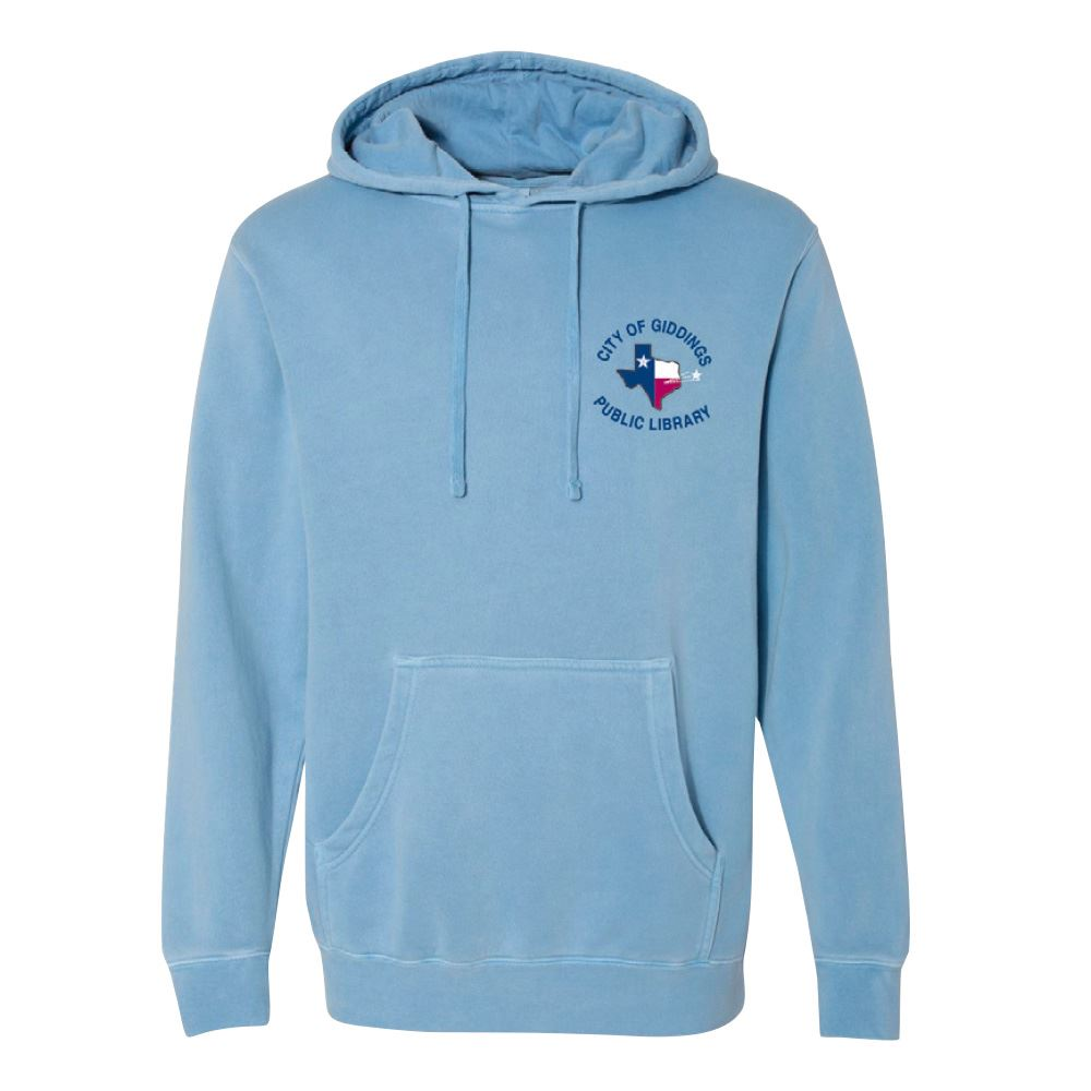 Independent Trading Co® Heavyweight Pigment Dyed Hooded Sweater - Personalization Available