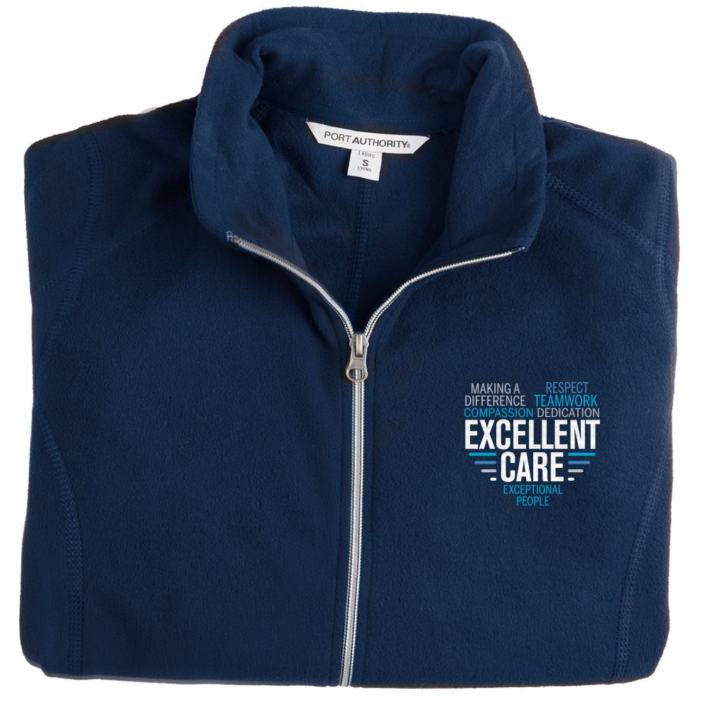 Women's Port Authority® Full-Zip Microfleece Jacket - Personalization Available