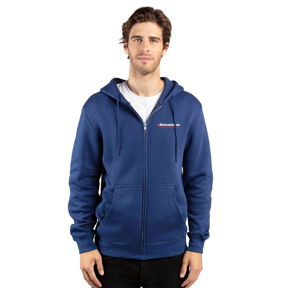 Threadfast Apparel® Unisex Ultimate Fleece Full-Zip Hooded Sweatshirt - Embroidery Personalization Available