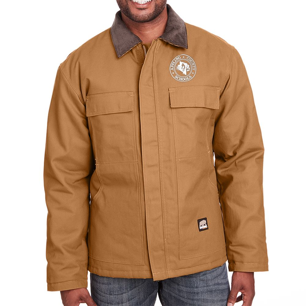Berne Men's Heritage Cotton Duck Chore Jacket - Personalization Available