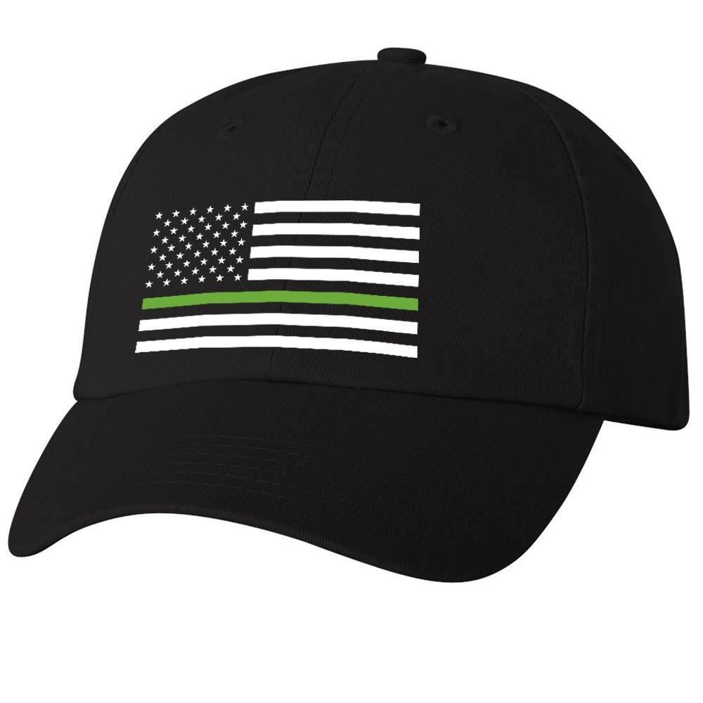 Thin Green Line Dad's Cap