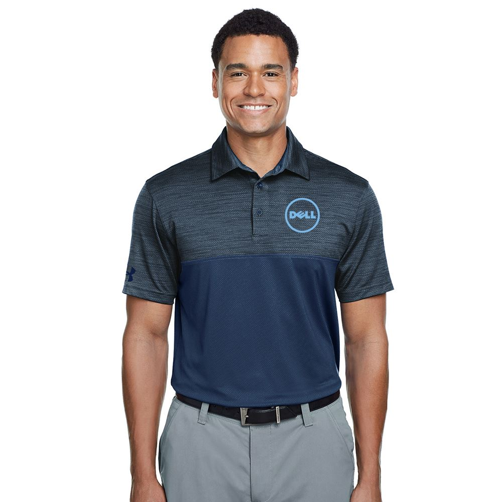 Under Armour® Ace Colorblock Polo Shirt - Embroidery Personalization Available