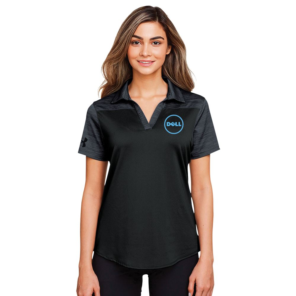 Under Armour® Women's Ace Colorblock Polo Shirt - Embroidery Personalization Available