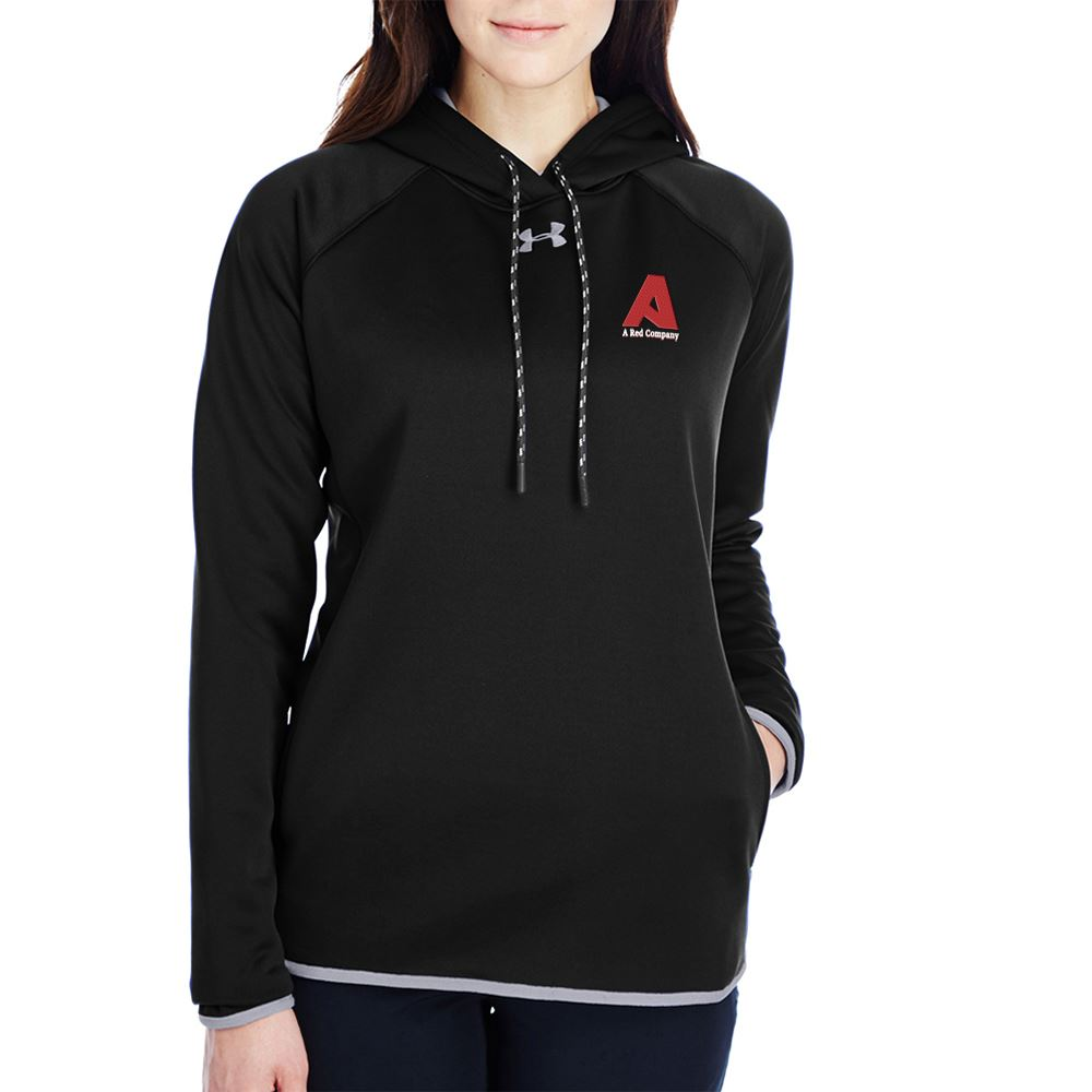 Under Armour® Women's Double Threat Armour Fleece® Hoodie - Personalization Available