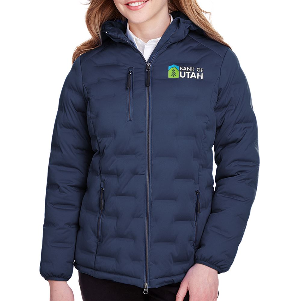 North End Women's Loft Puffer Jacket - Personalization Available