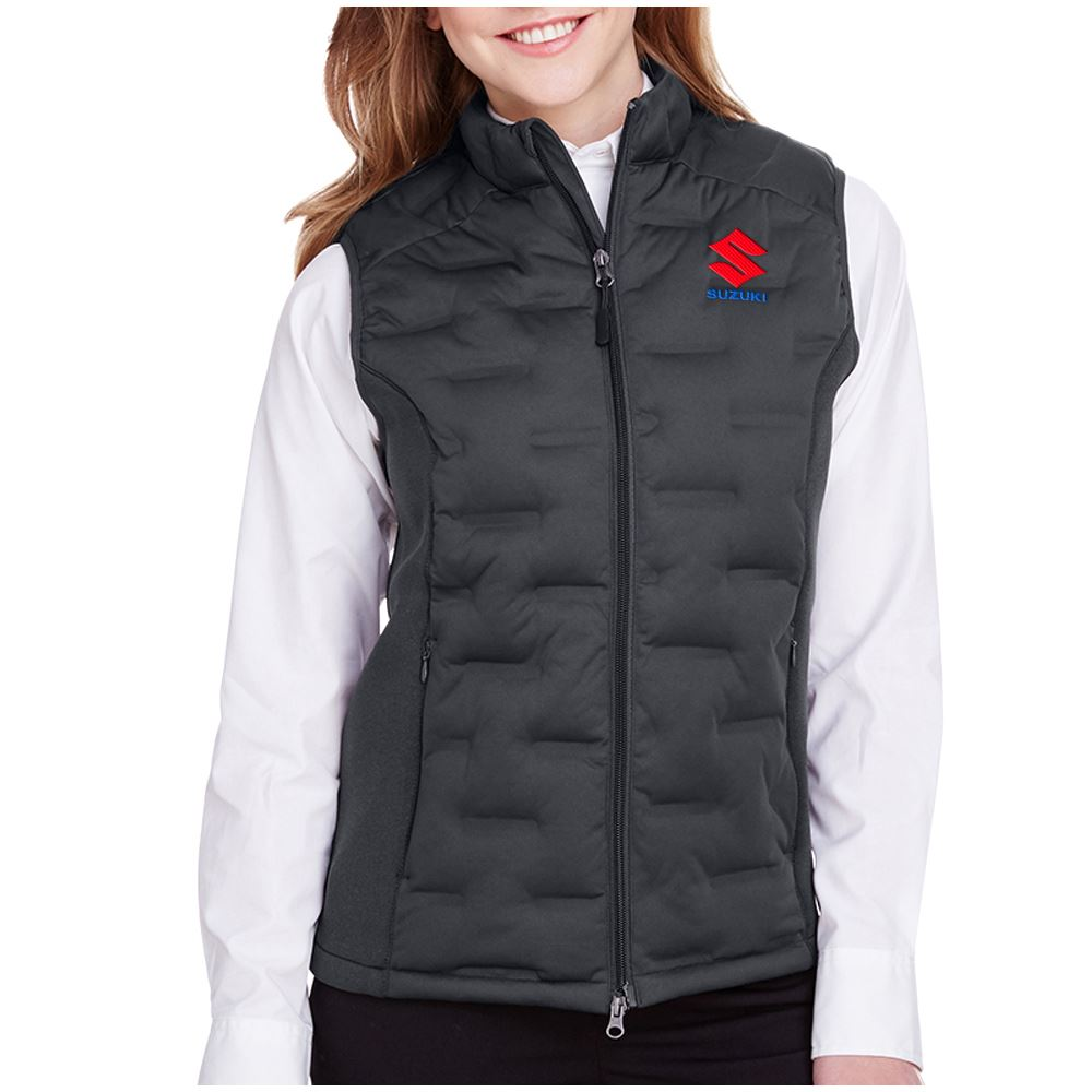 North End Women's Pioneer Hybrid Vest - Personalization Available