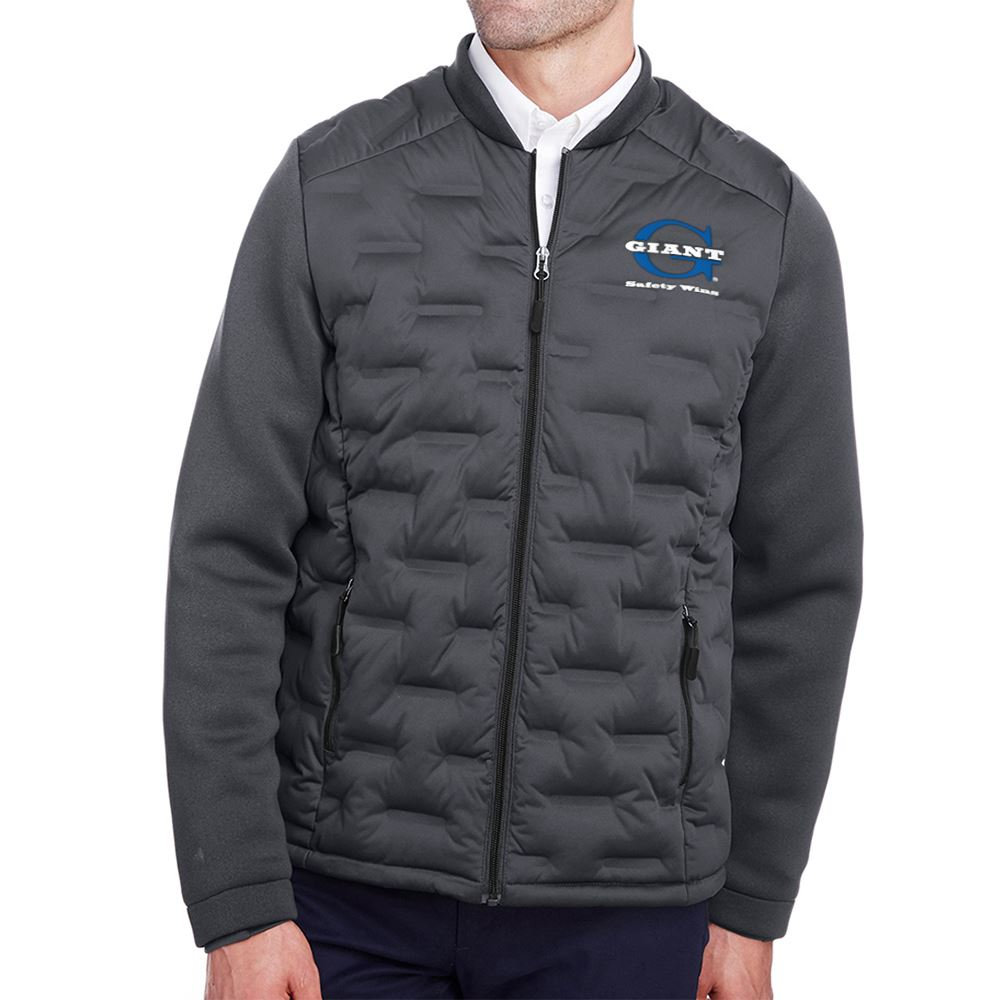 North End® Men's Loft Pioneer Hybrid Bomber Jacket - Personalization Available