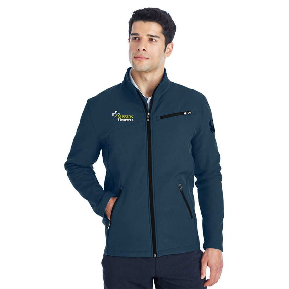 Spyder Men's Transport Soft Shell Jacket - Personalization Available