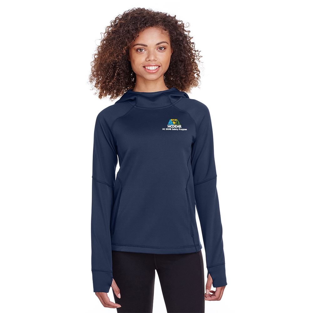 Spyder Women's Hayer Hooded Sweatshirt - Embroidery Personalization Available