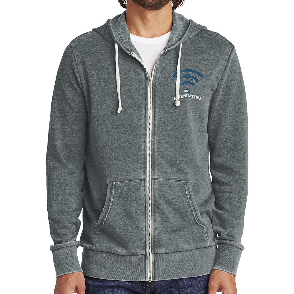 Alternative Burnout Laid-Back Zip Hoodie - Personalization Available