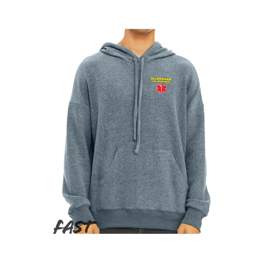 Bella + Canvas® Unisex Sueded Fleece Pullover Hoodie - Personalization Available