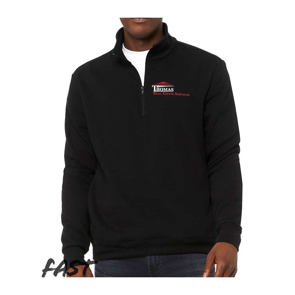 Bella + Canvas® Unisex Quarter Zip Pullover Fleece - Personalization Available