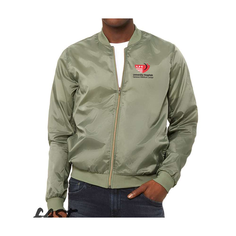 Bella + Canvas® Unisex Lightweight Bomber Jacket - Personalization Available