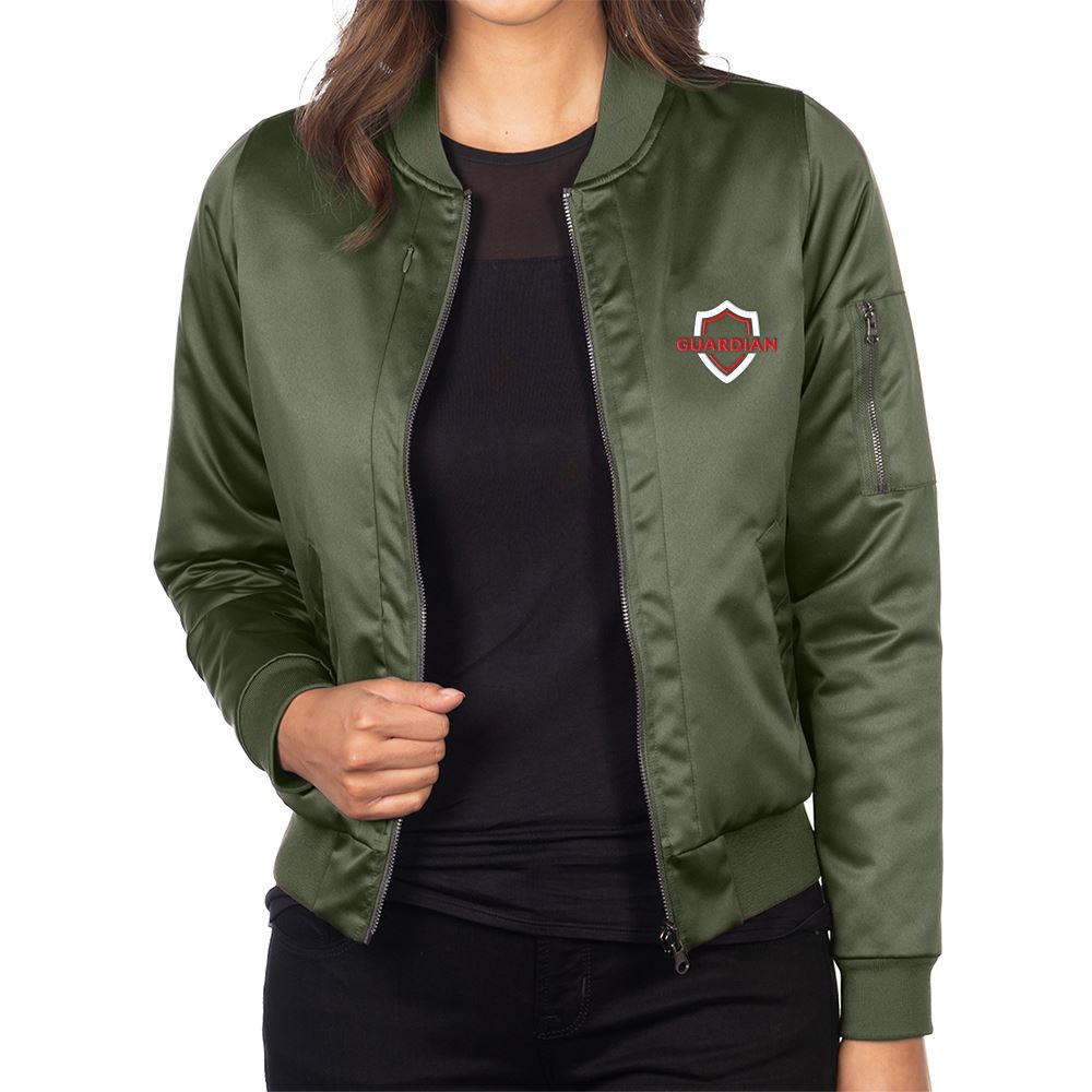 Tri-Mountain® Women's Reversible Bomber Jacket - Personalization Available