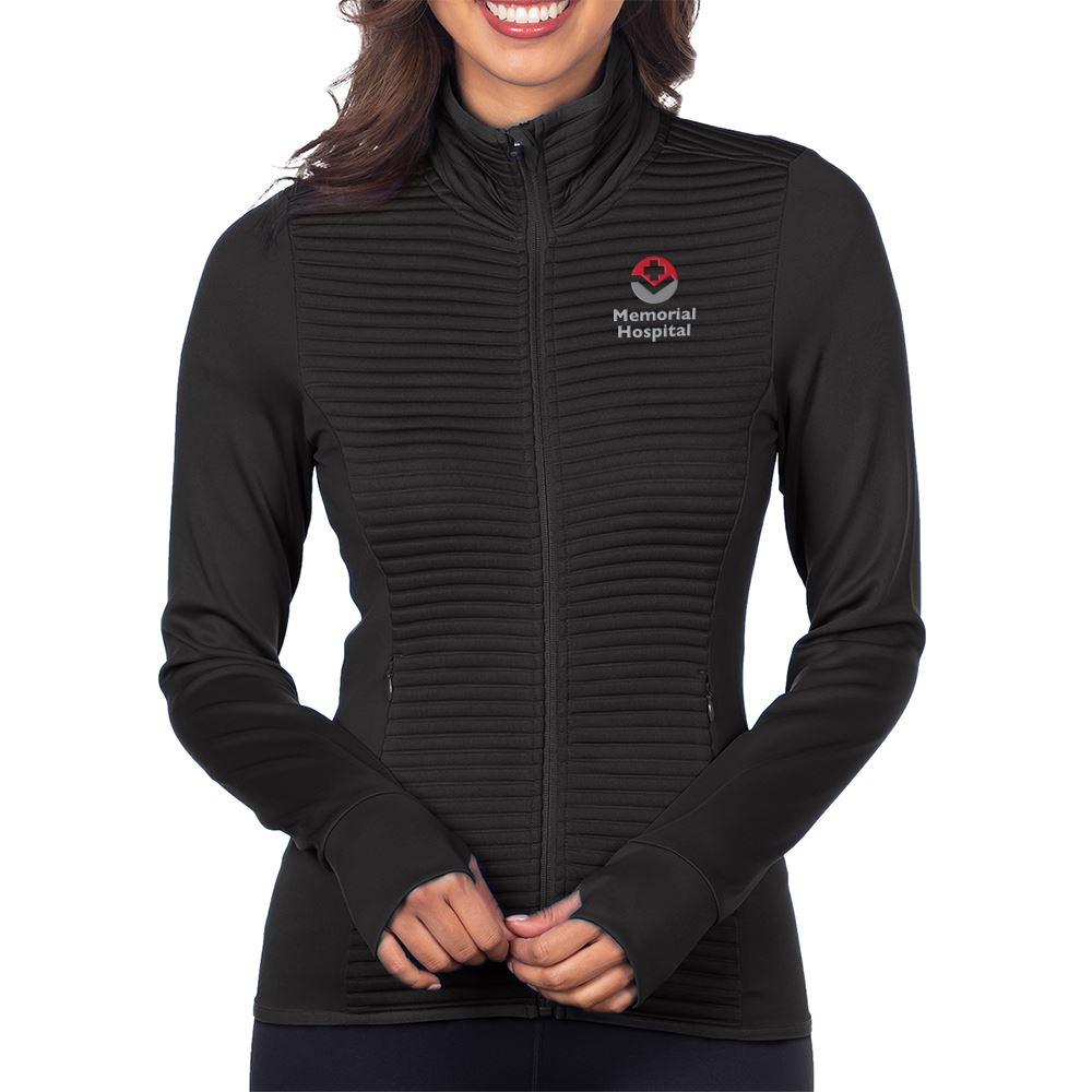 Tri-Mountain® Women's Double Knit Layna Jacket - Personalization Available