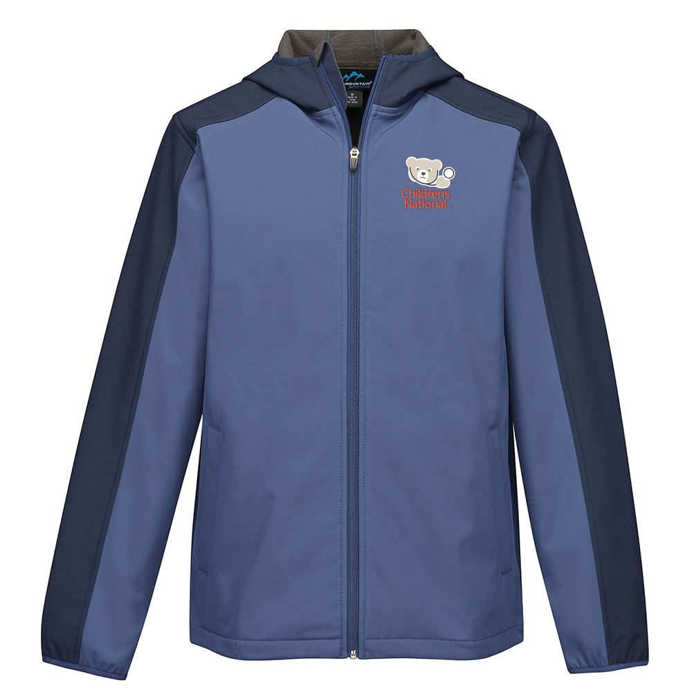 Tri-Mountain® Men's Bonded Soft Shell Hooded Jacket - Personalization Available