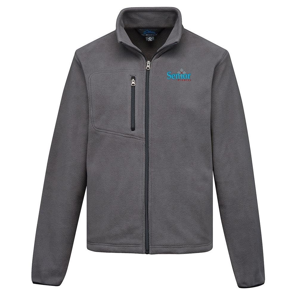 Tri-Mountain® Men's Heavyweight Redmond Micro Fleece Jacket - Personalization Available