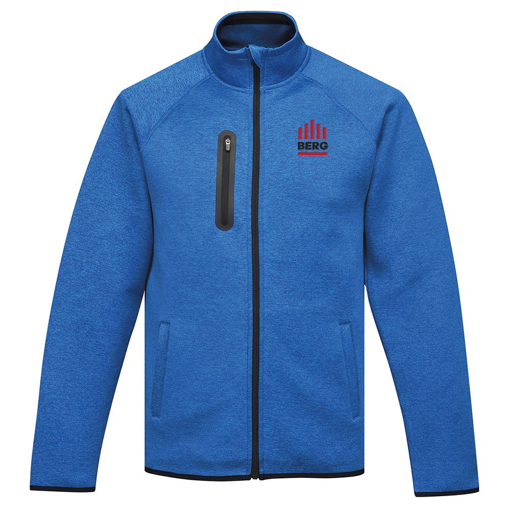 Tri-Mountain® Men's Layer Knit Jacket - Personalization Available