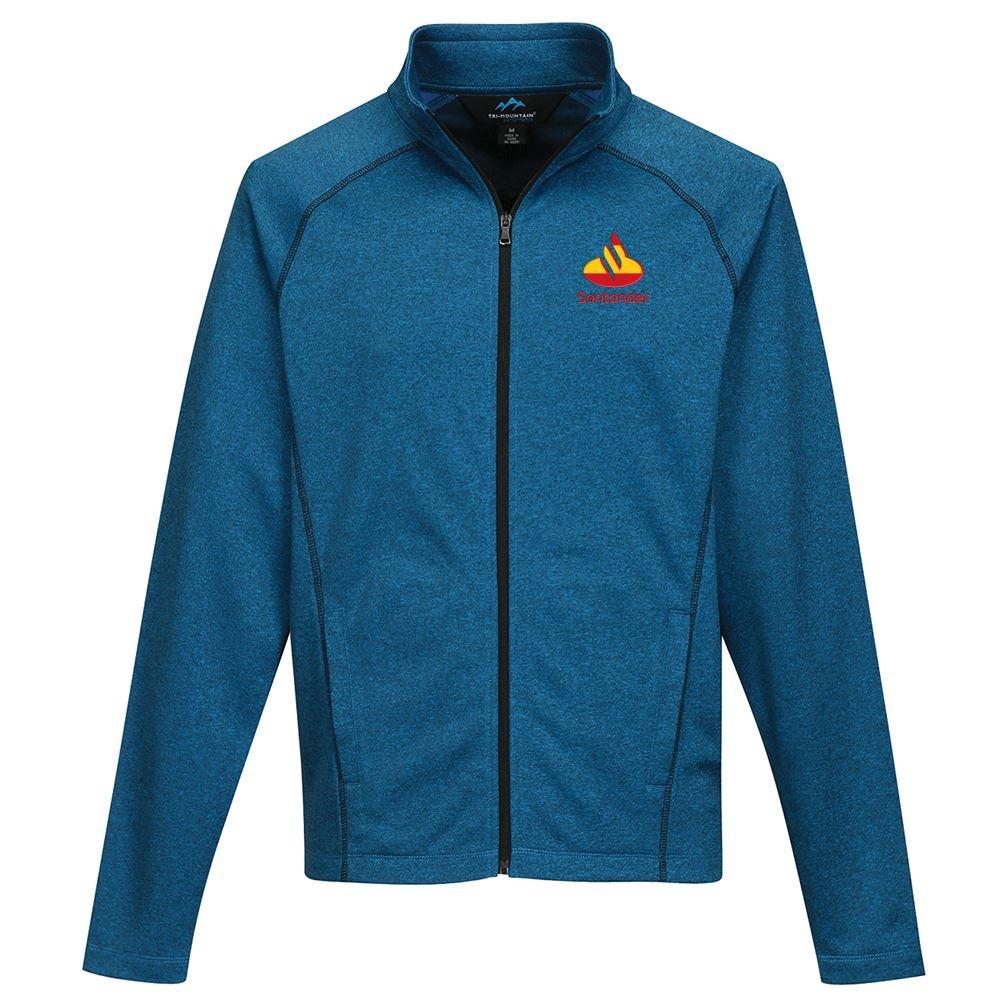 Tri-Mountian® Men's Vapor Full-Zip Heather Fleece Jacket - Personalization Available