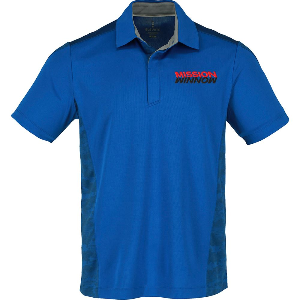 Elevate® Men's Piedmont Short Sleeve Polo - Personalization Available