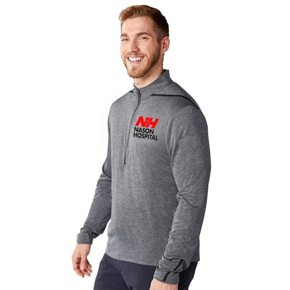 Elevate® Men's DEGE Eco Knit Half Zip - Personalization Available