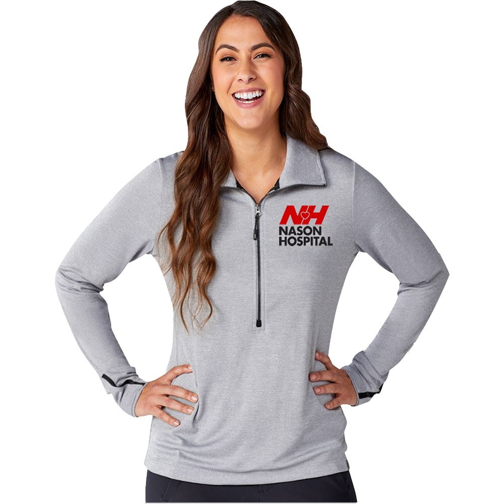 Elevate® Women's DEGE Eco Knit Half Zip - Personalization Available