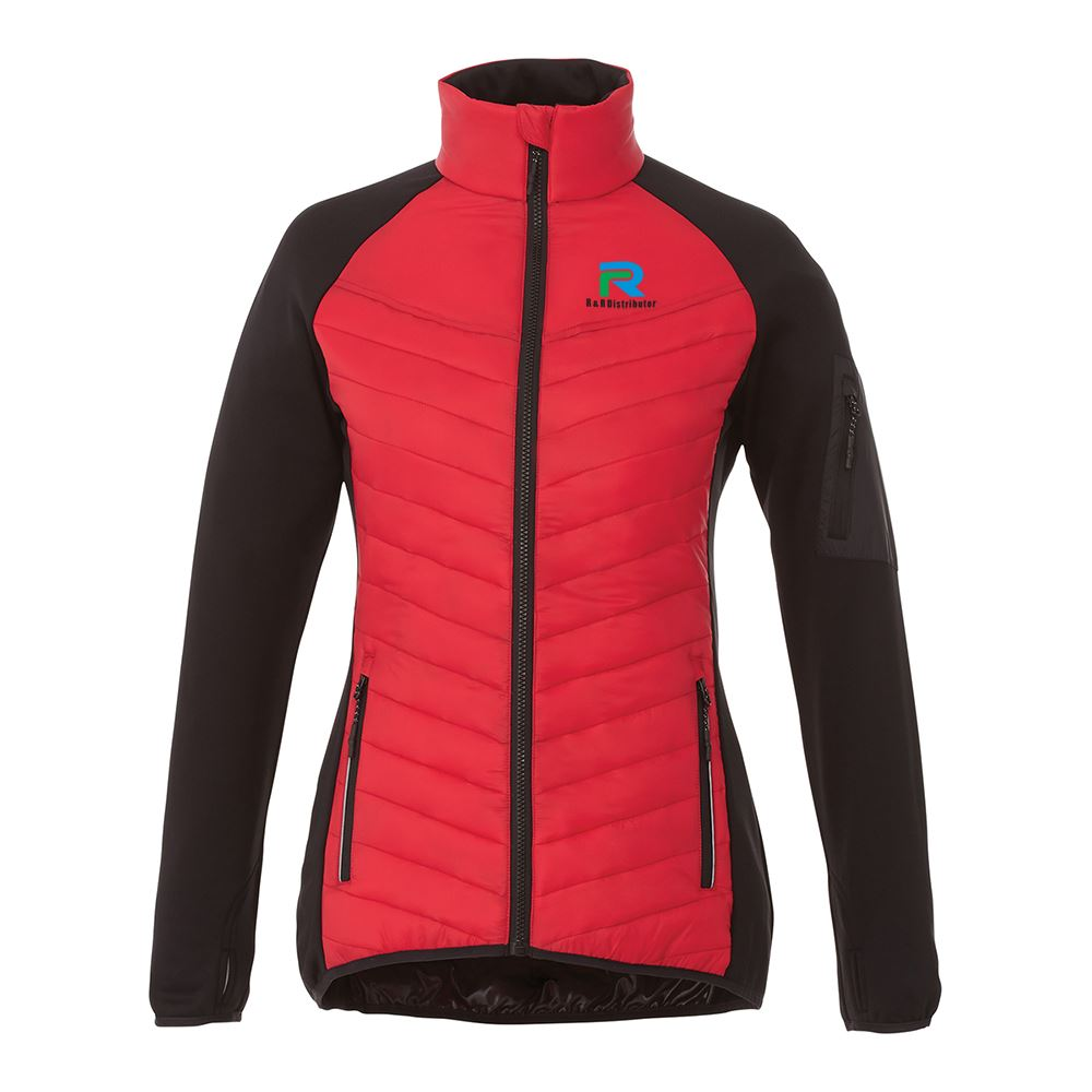 Elevate® Women's Banff Hybrid Insulated Jacket - Personalization Available