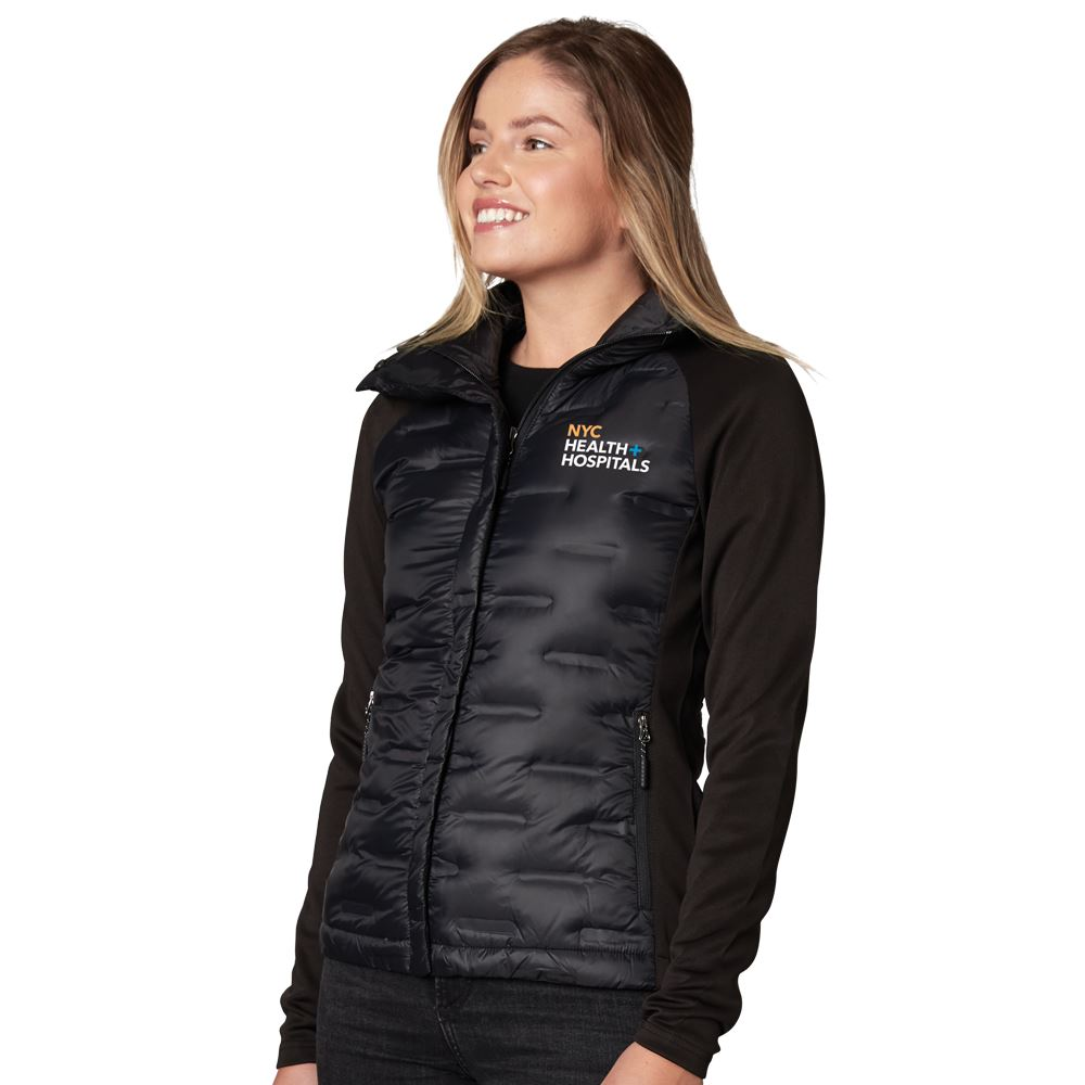 Fossa Apparel� Women's Hybrid Puffer Jacket - Personalization Available