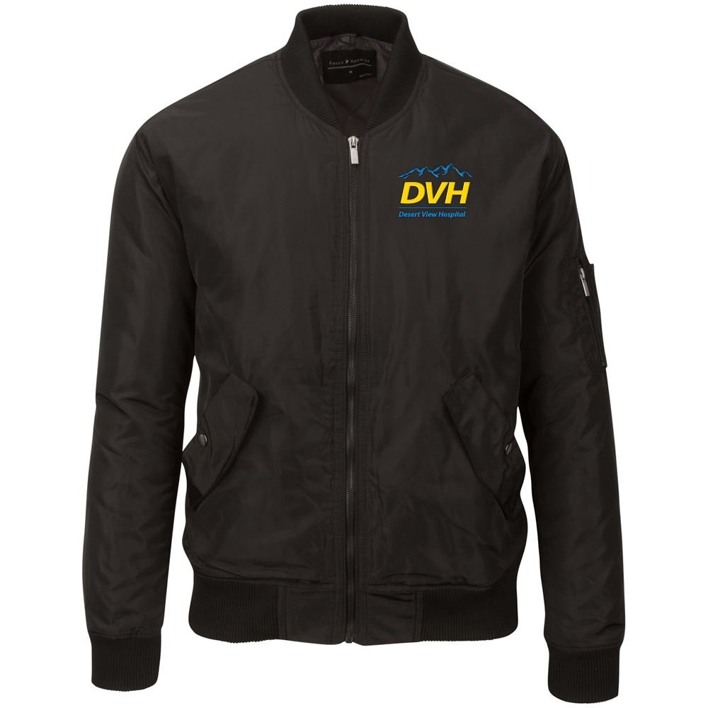 Fossa Apparel Men's Wingover Bomber Jacket - Embroidered Personalization Available