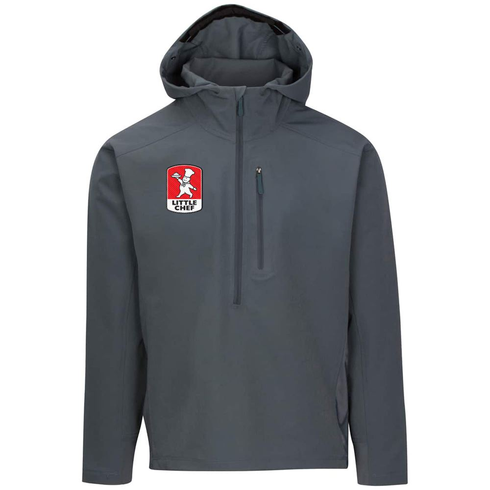 Fossa Apparel Men's Skyline Soft Shell Half Zip - Personalization Available