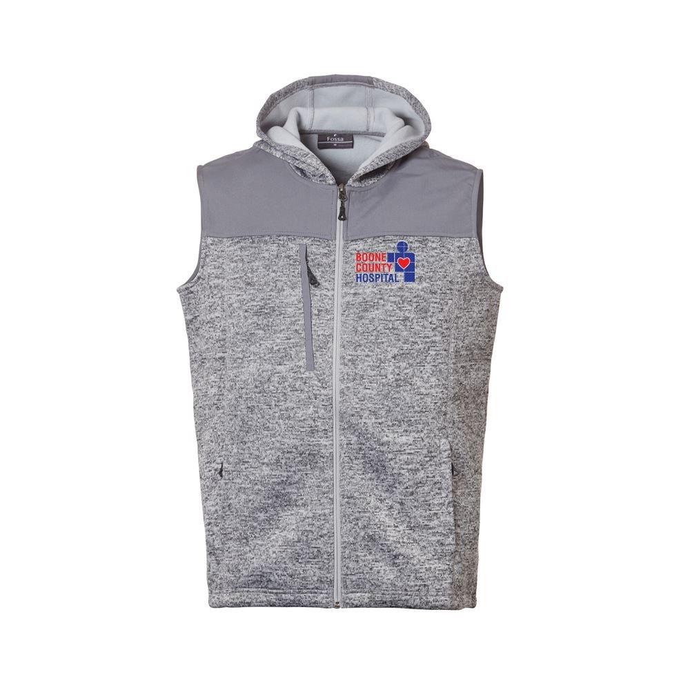 Fossa Apparel Men's District Sweater Fleece Vest - Personalization Available