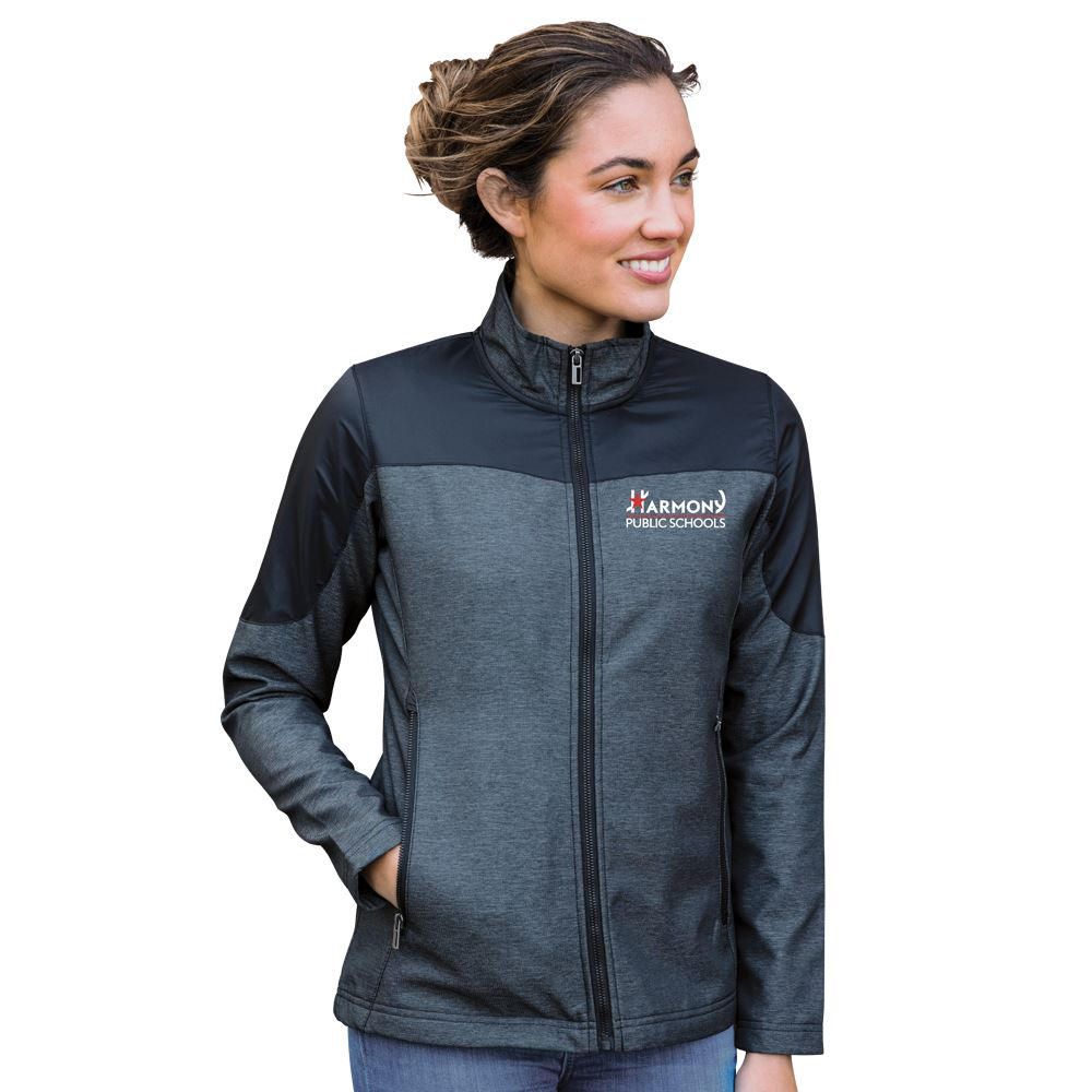 Fossa Apparel Women's Aspect Soft Shell Jacket - Personalization Available