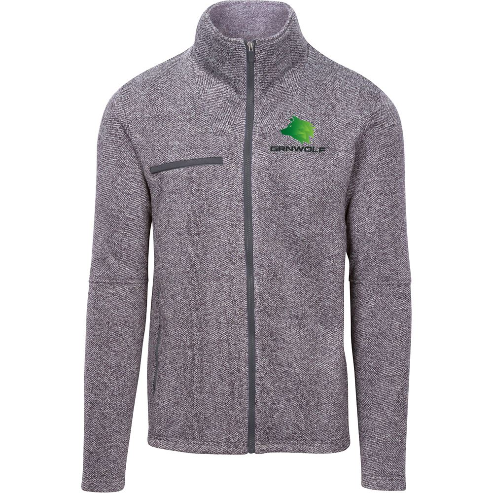 Fossa Apparel Men's Kentfield Sweater Fleece Jacket - Personalization Available