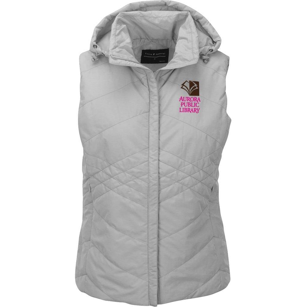 Fossa Apparel Women's Jupiter Puffer Vest - Personalization Available