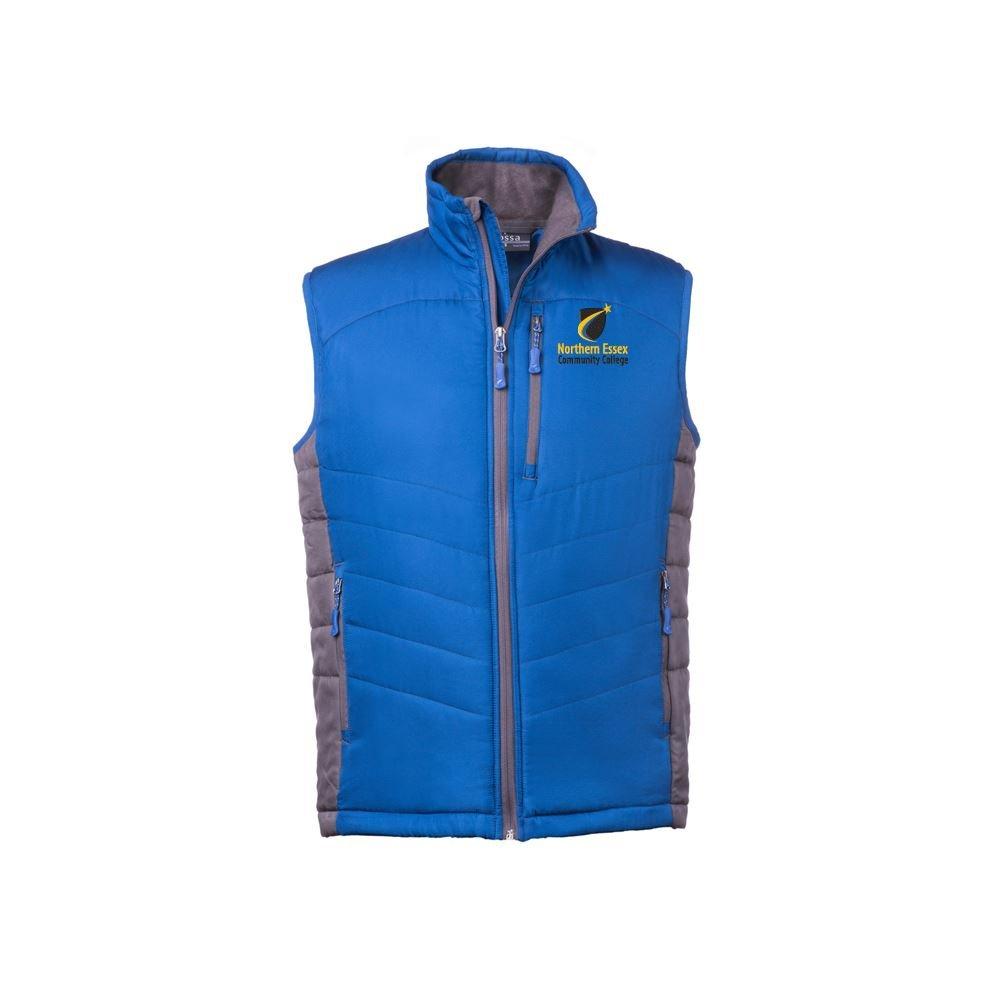 Fossa Apparel Men's Cloud Puffer Vest - Personalization Available