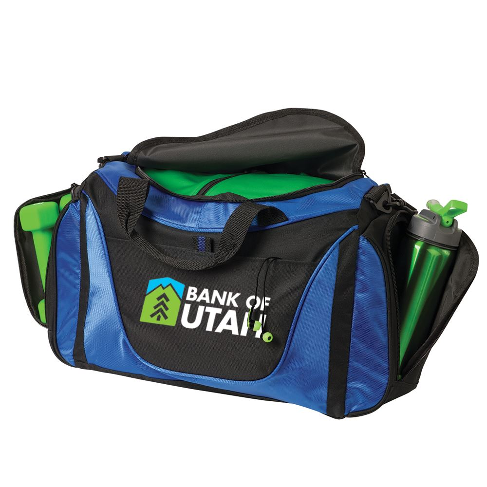 Port Authority® Small Two-Tone Duffel Bag - Personalization Available