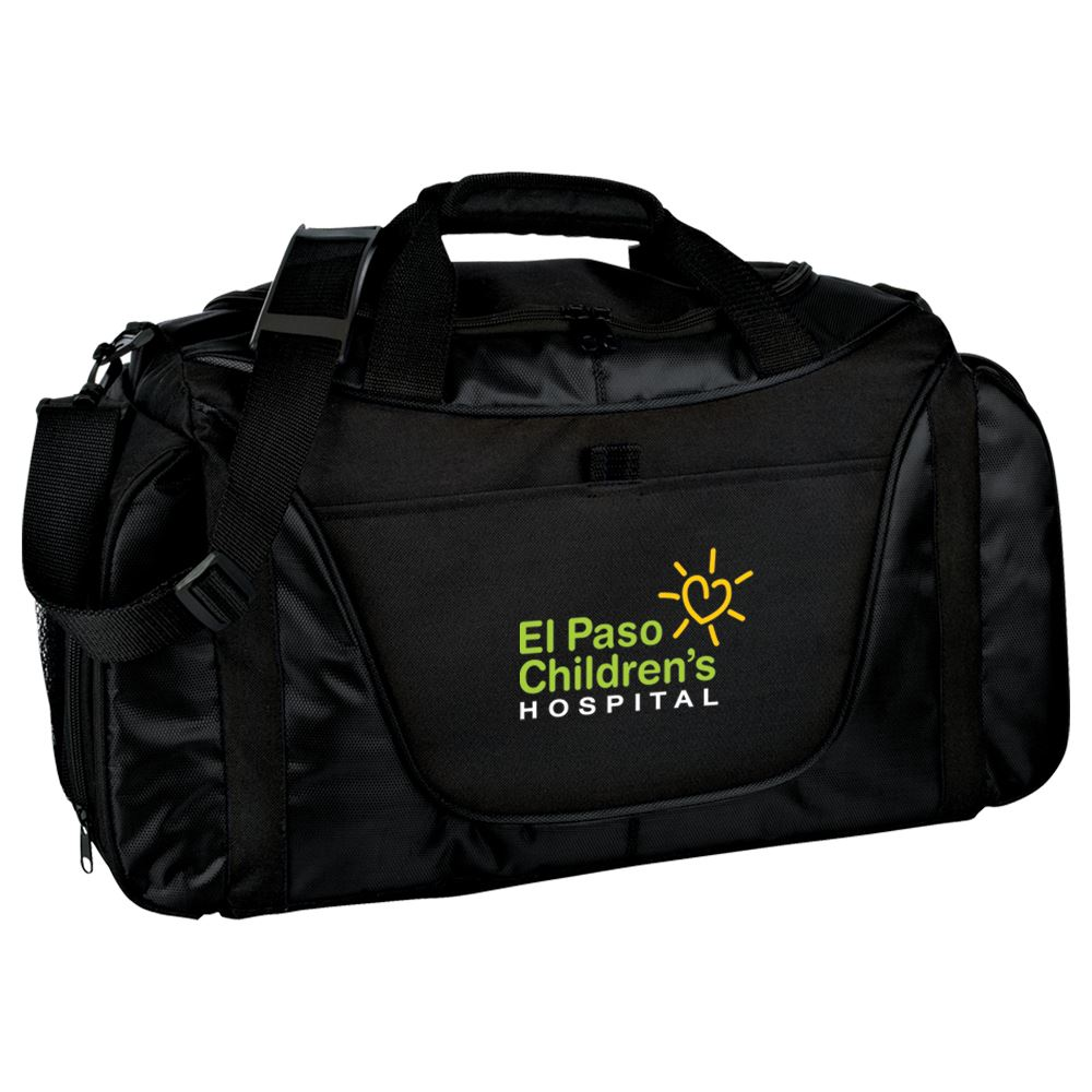Port Authority® Medium Two-Tone Duffel Bag - Personalization Available